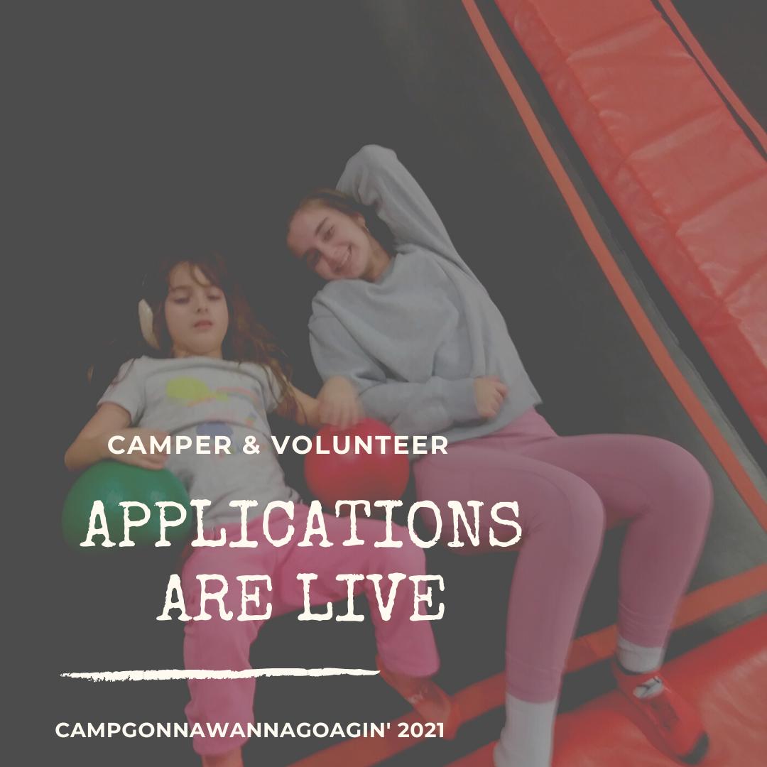 Camper Volunteer App Live