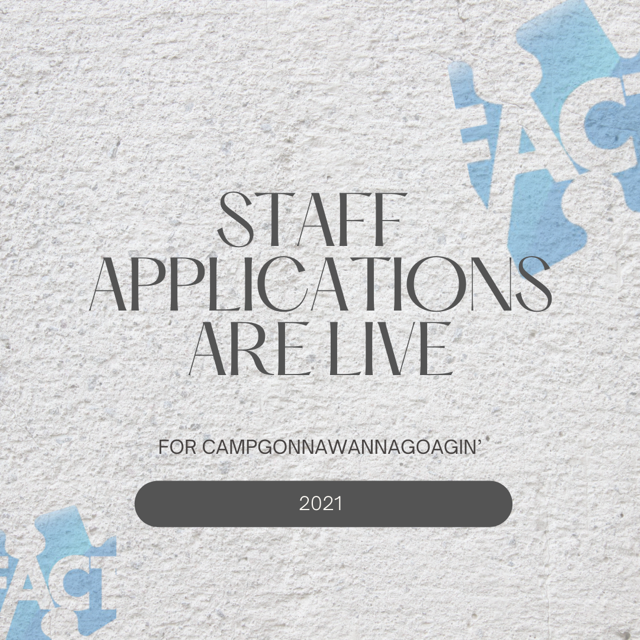 Staff Applications are Live