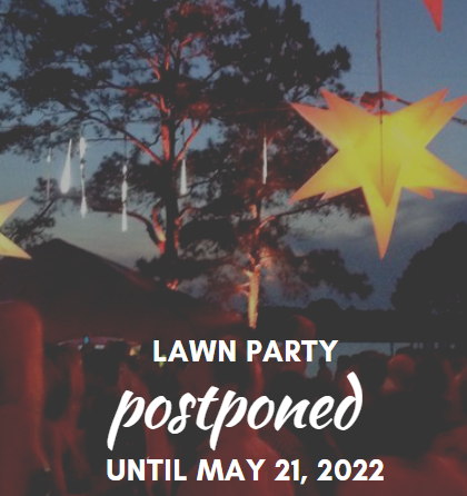 lawnparty postponed